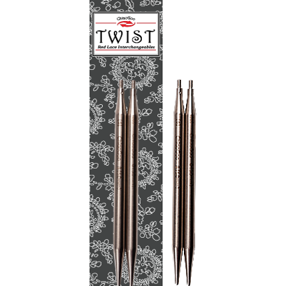 4 Inch Stainless Steel Knitting Needle Tips