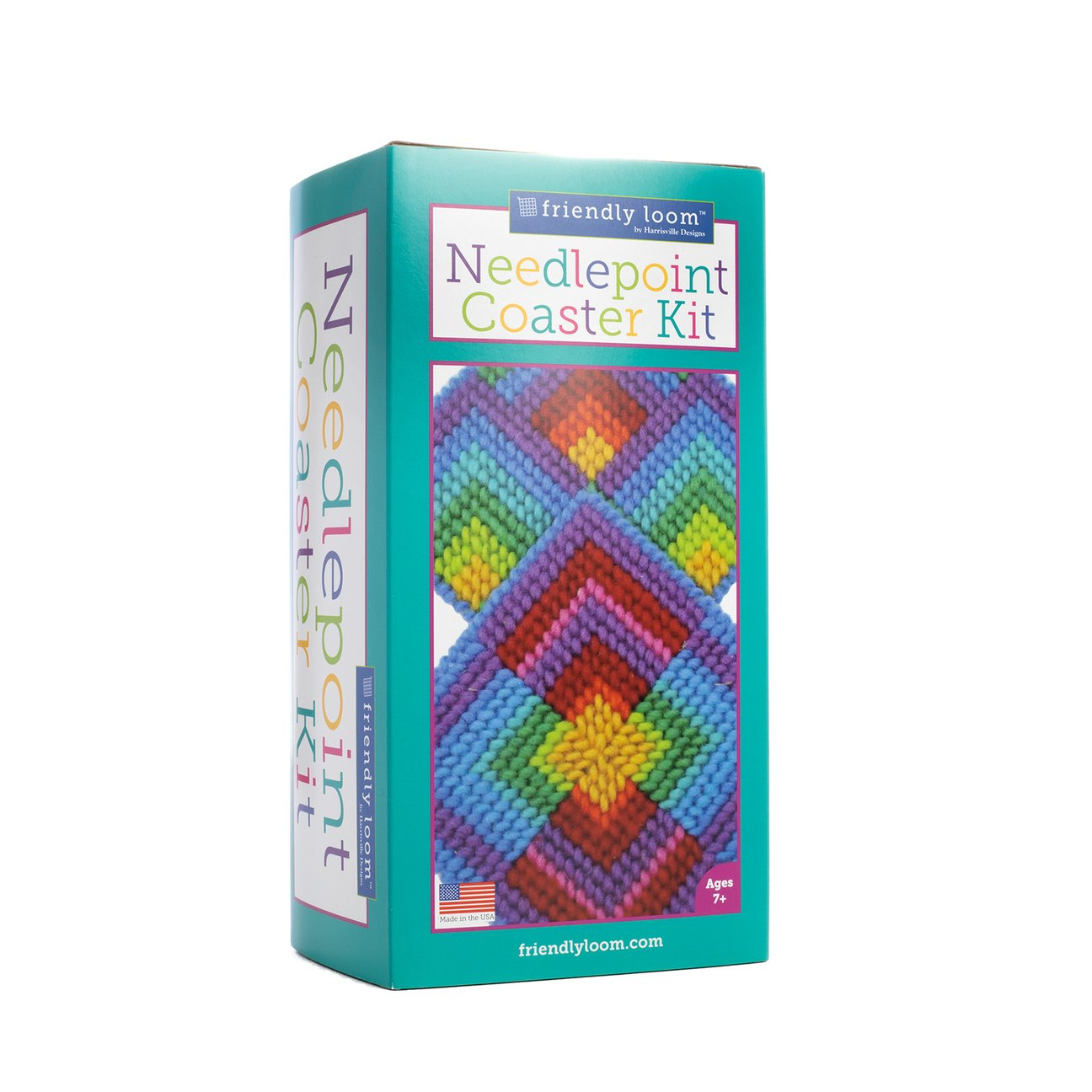 Needlepoint Coaster Kit