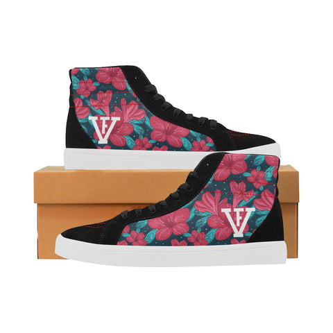 FV Lear5's Floral Red Print