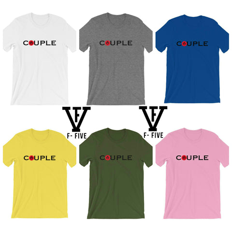 POWER COUPLE Short-Sleeve Unisex T-Shirt