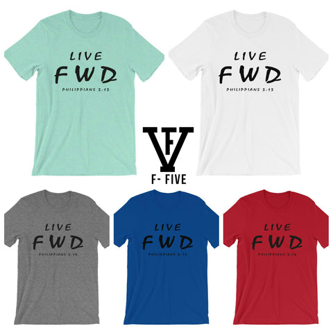 LIVE FWD Men Graphic Tee