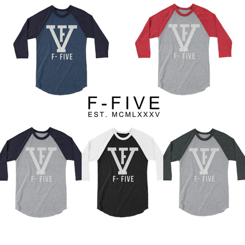 FV F-FIVE 3/4 sleeve raglan shirt