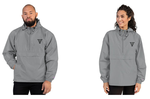 F-FIVE Embroidered Champion Packable Jacket Unisex
