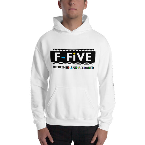F-FIVE R&R 90's Theme Hooded Sweatshirt