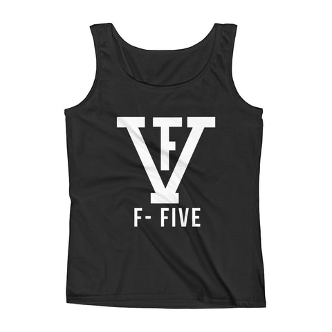 F-FIVE Logo Graphic Tank Top for Women
