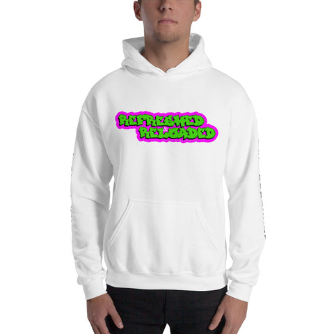 Refreshed & Reloaded 90's Theme Hooded Sweatshirt