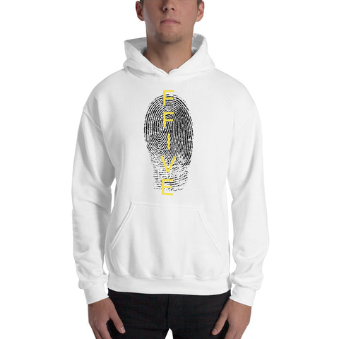F-FIVE Fingerprint Hooded Sweatshirt