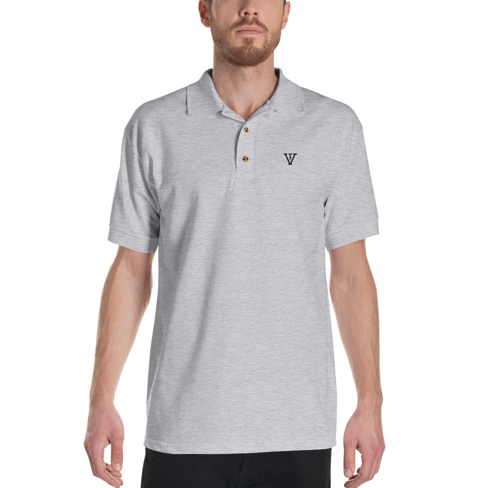 F-FIVE Polo Shirt Black Logo