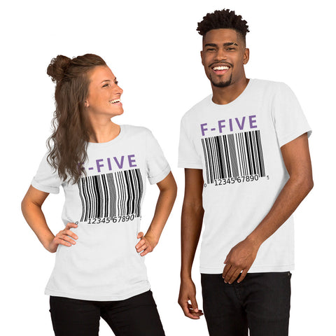 F-FIVE Barcode Short-Sleeve T-Shirt