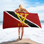 F-FIVE Trinidad Flag Towel