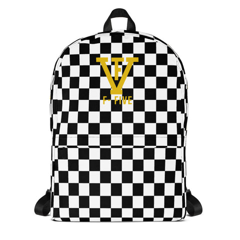 F-FIVE Chess Board Backpack