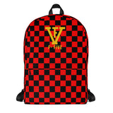 F-FIVE Checker Board Backpack
