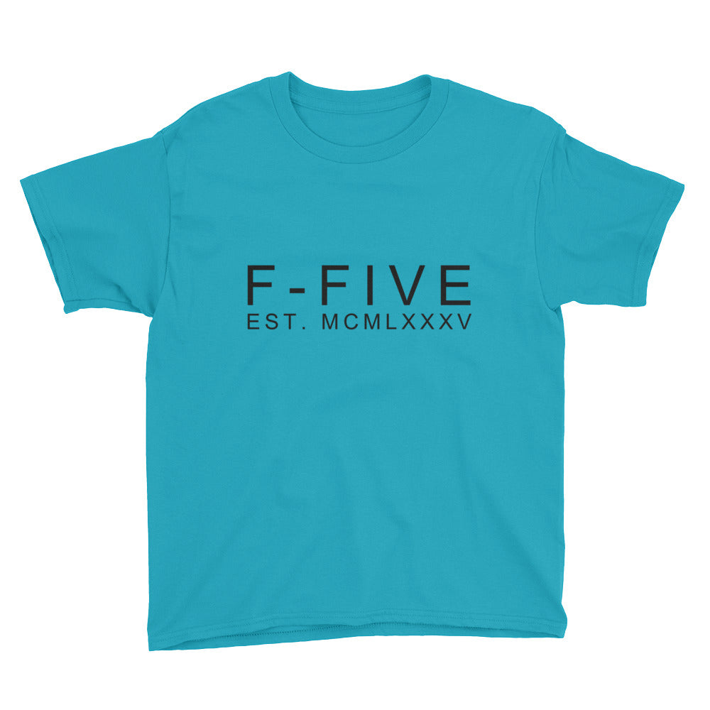 F-FIVE EST. MCMLXXXV Graphic Tee for Youth Kids