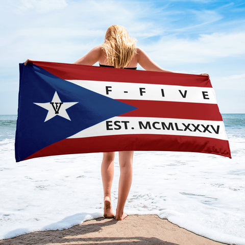 F-FIVE Puerto Rico Flag Towel
