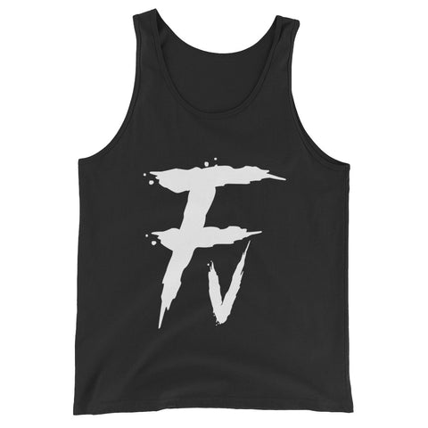 Fv Painted Graphic Tank Top for Men