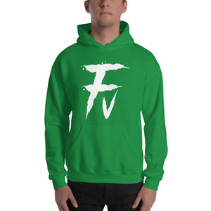 Fv Painted Graphic Hooded Sweatshirts for Men and Women