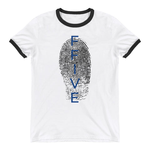 F-FIVE Fingerprint Ringer T-Shirt