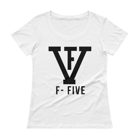 F-FIVE Women Scoopneck T-Shirt