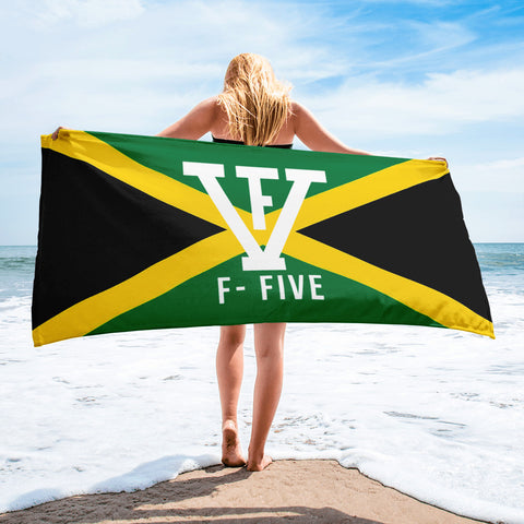 F-FIVE Jamaica Flag Towel