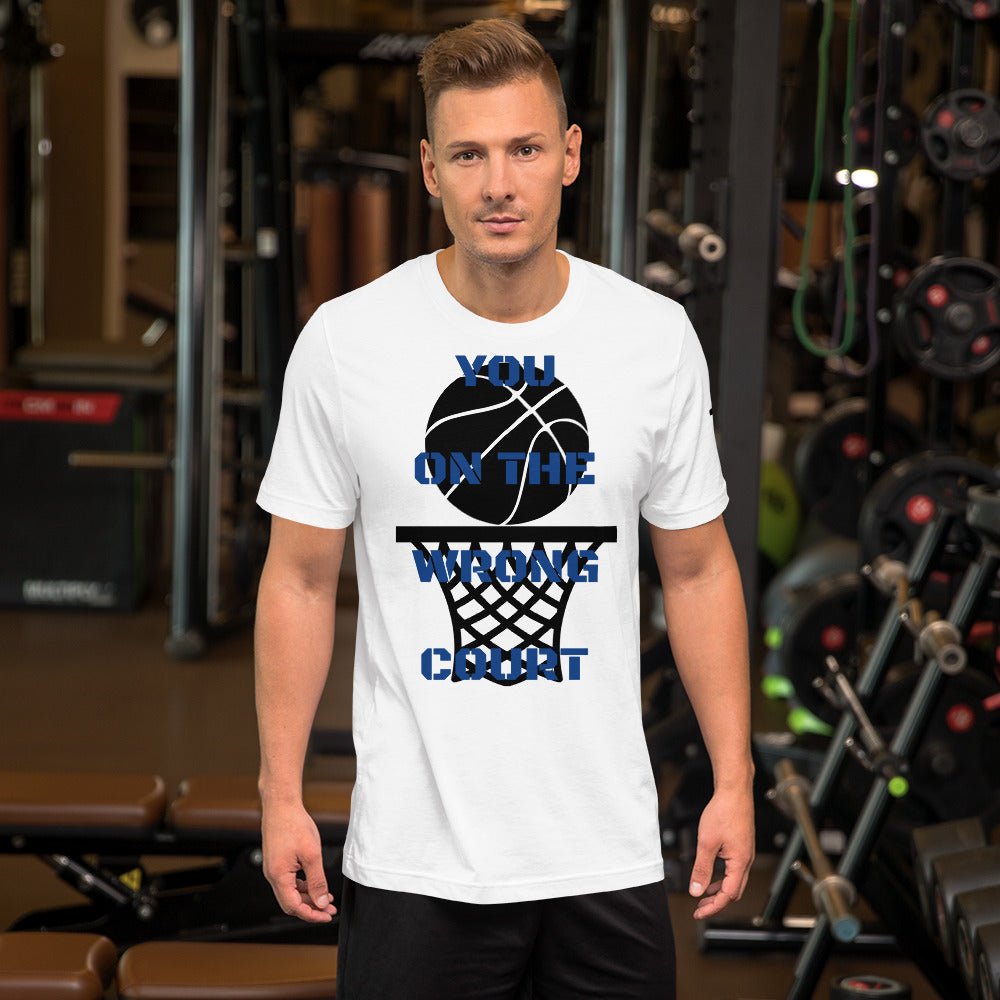 You On The Wrong Court Graphic Tee for Men