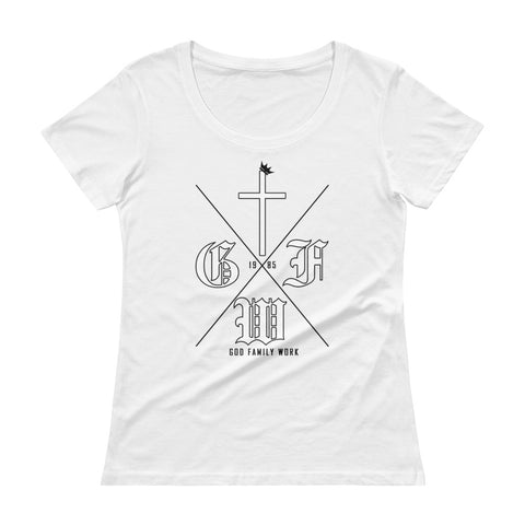 GFW Graphic Scoopneck Tee for Women