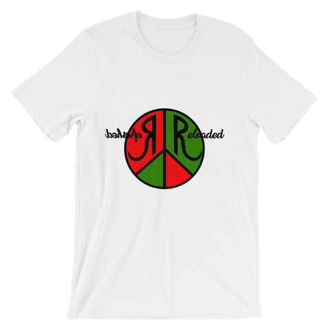 Refreshed Reloaded & @ Peace Graphic Tee for Men
