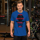 You Better Foul Me Graphic Tee for Men
