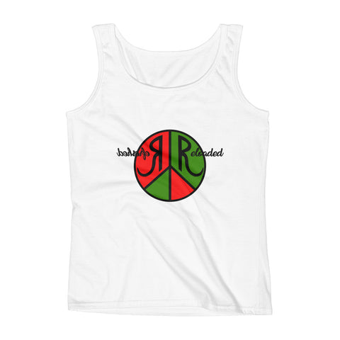 Refreshed Reloaded & @ Peace Graphic Tank Top for Women