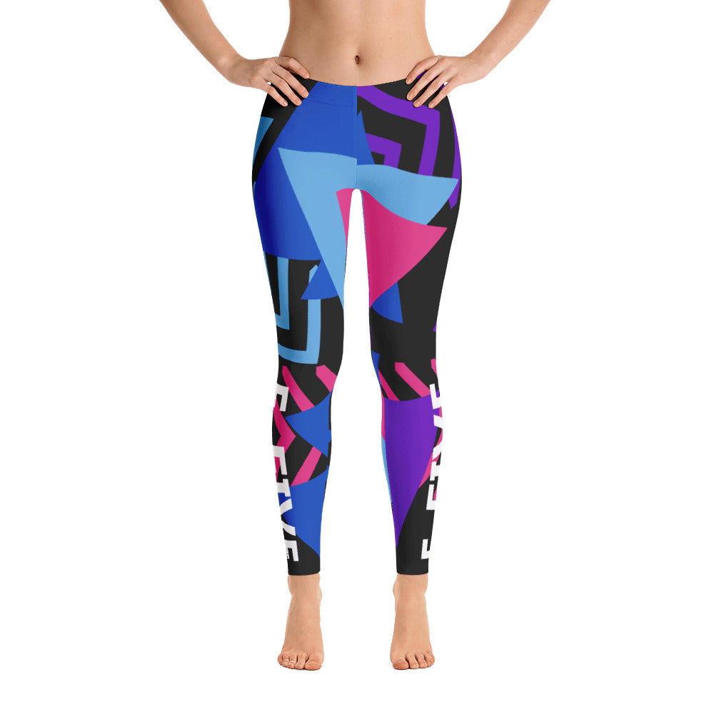 Multi Color F-FIVE Leggings