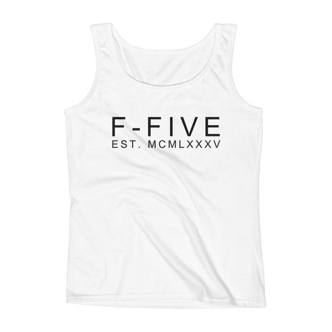F-FIVE EST. MCMLXXXV Graphic Tank Top for Women