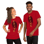 F-FIVE Fingerprint Short-Sleeve T-Shirt