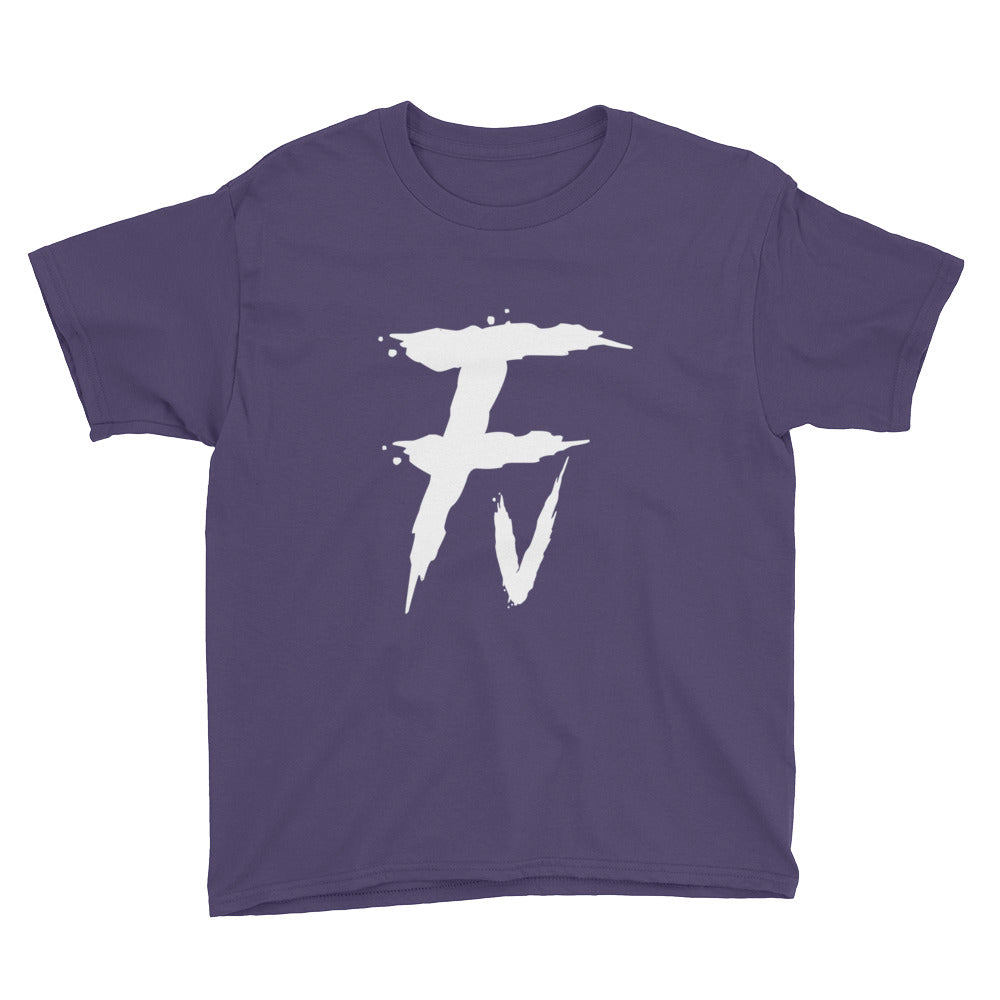 Fv Painted Graphic Tee for Youth Kids