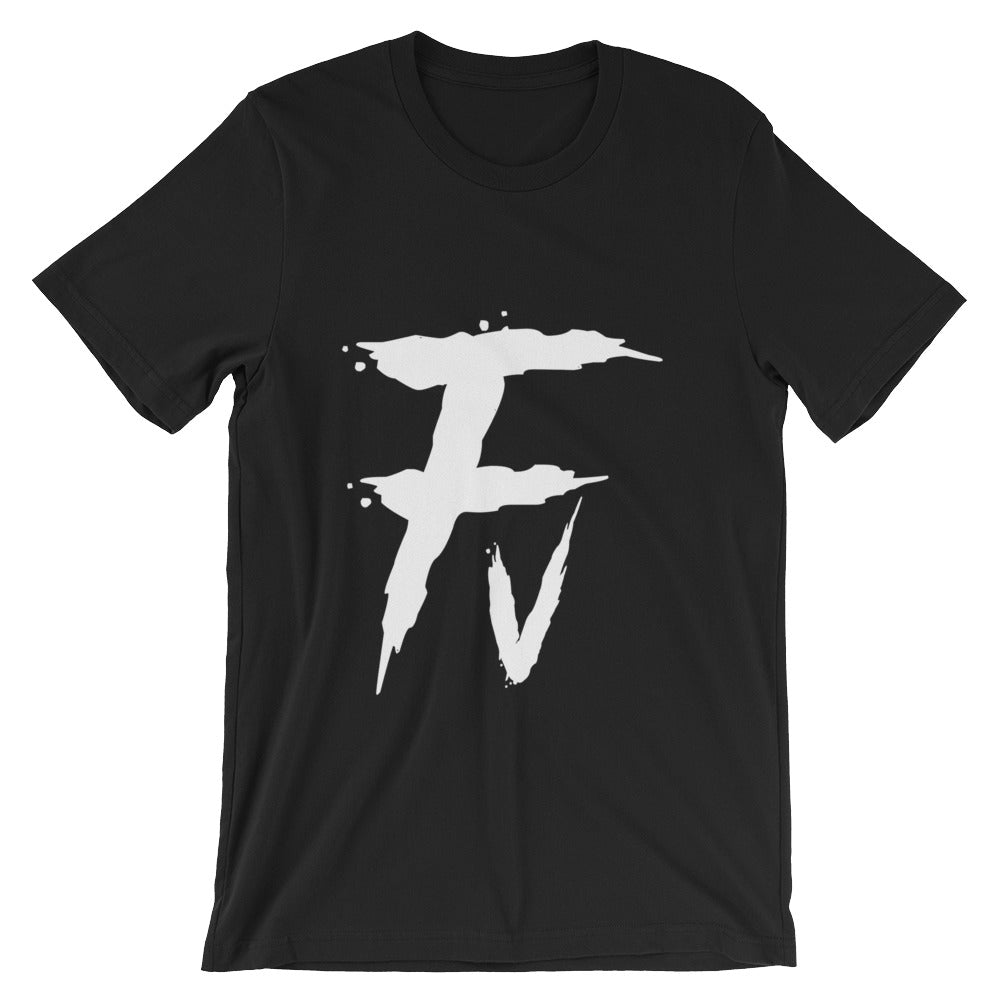 Fv Painted Graphic Tee for Men