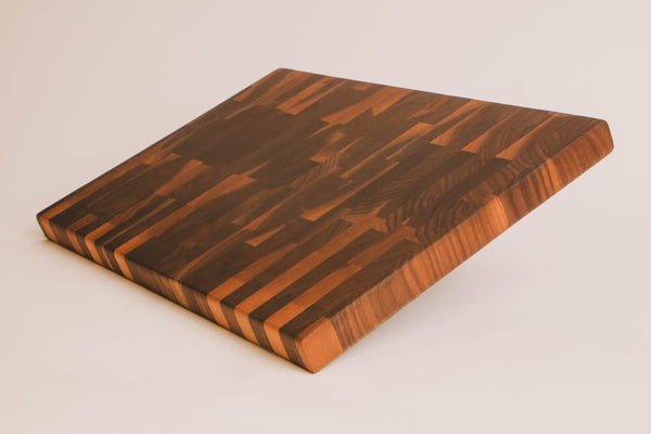 Walnut - End Grain Cutting Board -- 12