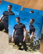 Limited Edition Signed Joe Weller Poster