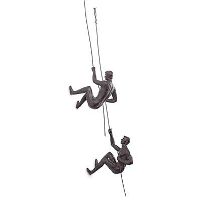 Wall Climbing Figures - Antique