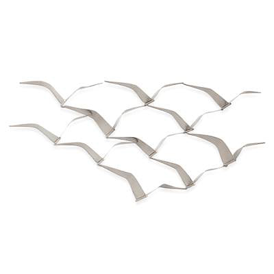 Seagull Sculpture Metal Wall Decor