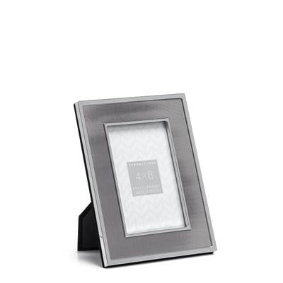 Inset Pewter Panel Frame - 5x7