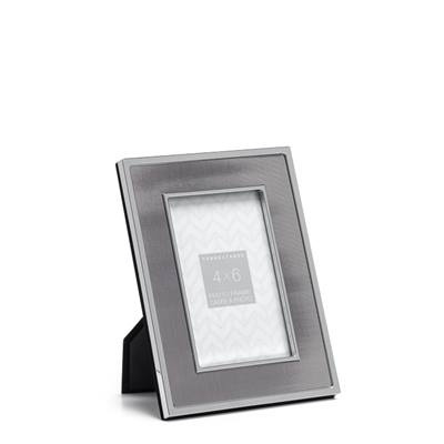 Inset Pewter Panel Frame - 4x6