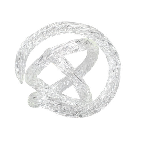 Clear Infinity Knot Table Top Décor