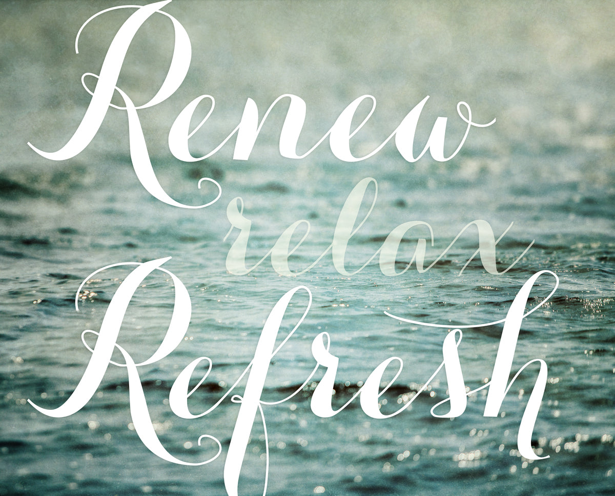 Renew Relax Refresh I