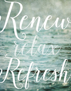 Renew Relax Refresh II
