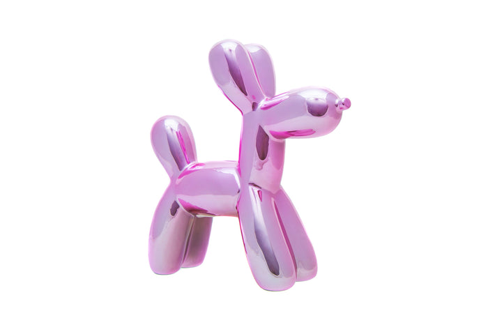 Pink Balloon Dog Bank Mini