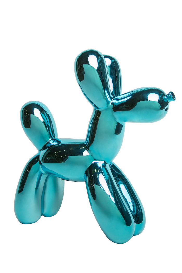 Blue Balloon Dog Bank