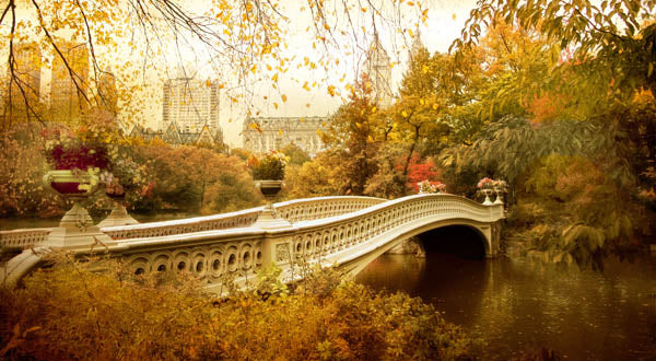 Bow Bridge Autumn