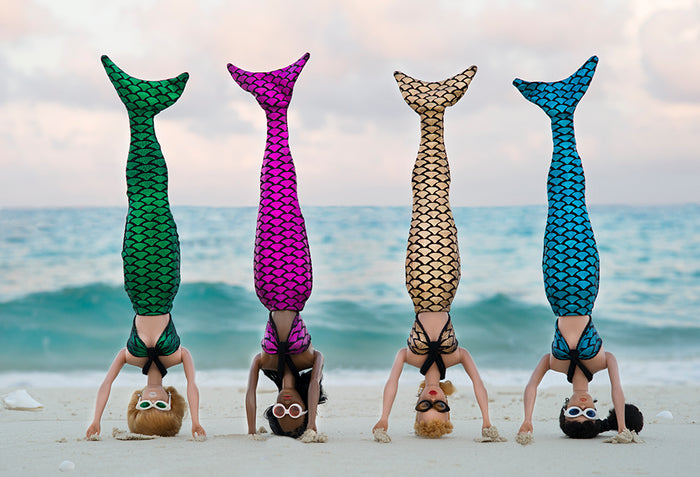 Mermaid Headstands