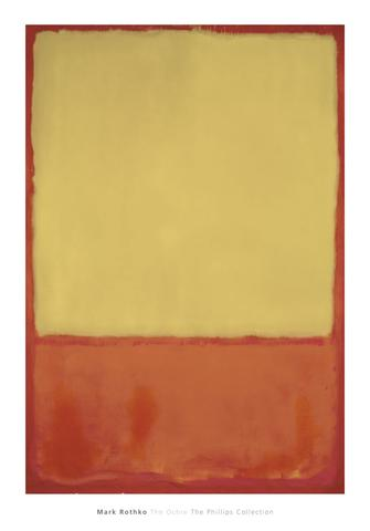 The Ochre (Ochre, Red on Red) 1954