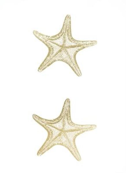2-Up Gold Foil Starfish II