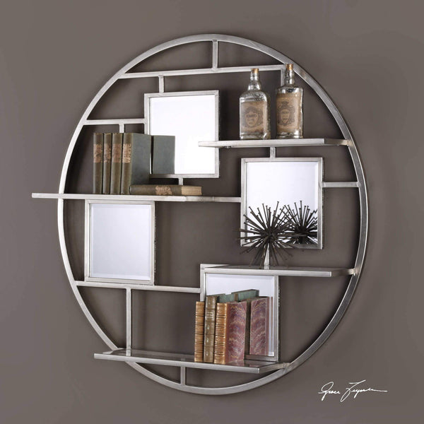 Zaria Wall Shelf Mirror
