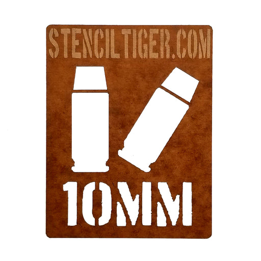 10MM Ammo Spray Paint Stencil